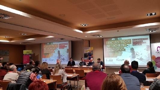 Asprodes participa en el I Encuentro de Networking Transfronterizo España-Portugal que reúne a más de 60 personas