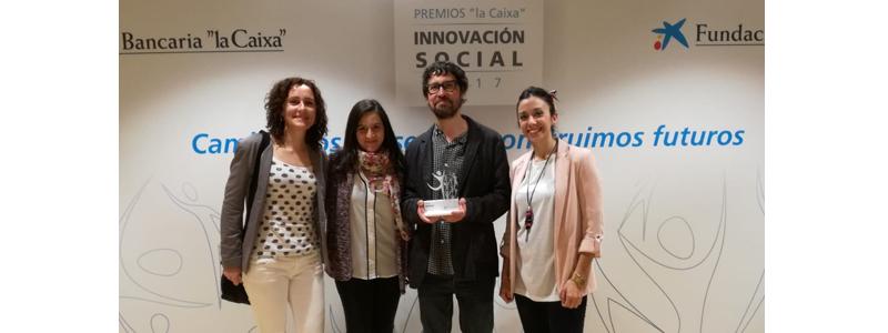 """El proyecto """"Oficina Vida Independiente Rural"""" seleccionado al premio de innovación social por la Fundación Bancaria La Caixa"""