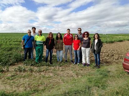 Viveros El Arca y la Universidad continúan sus investigaciones con el té de compost