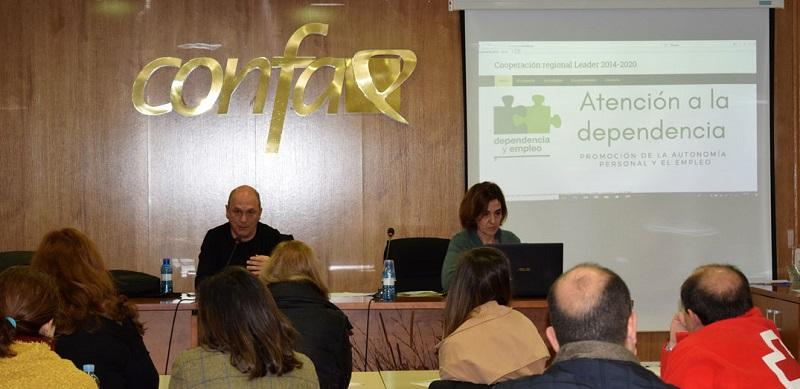 Asprodes participa en las jornadas sobre dependencia y empleo para dar respuesta a las personas dependientes en el medio rural